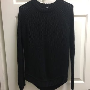 Lululemon Black Knit Sweater, size 4